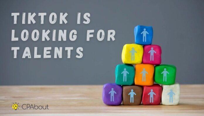 TikTok support talented blogers