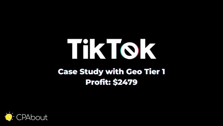 Кейс: 2479$ на Дейтинг Смартлинке iMonetizeit с TikTok